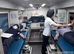 설성면이장단, 지난해 이어 3차 단체헌혈봉사로 지속적인 헌혈 봉사 실시