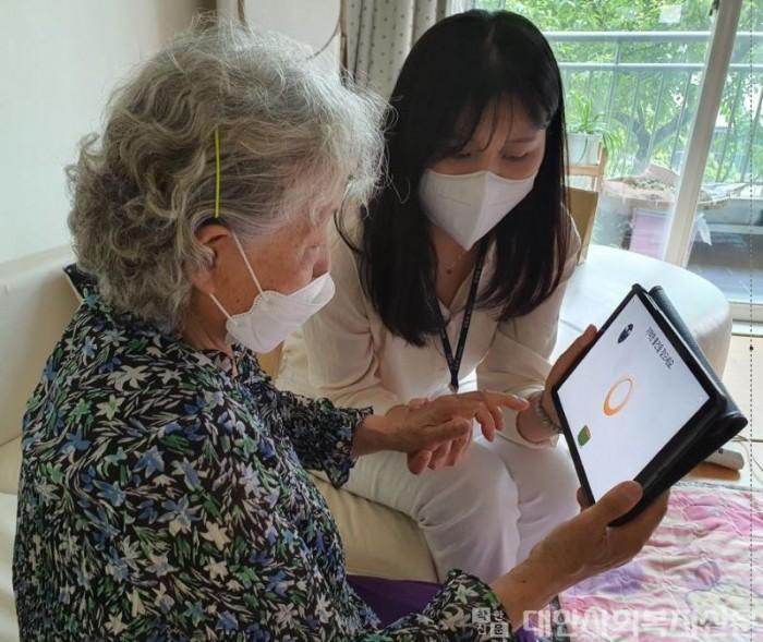 0611 구리시, 백신접종 완료 치매환자 대상 인지재활 교육 실시(1).JPG